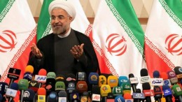 President-elect Hassan Rouhani of Iran