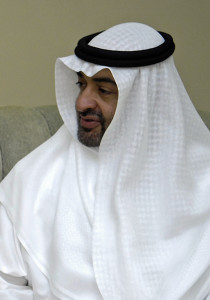 UAE crown prince and deputy supreme commander of the armed forces Mohammed bin Zayed Al-Nahyan (Photo from Wikipedia)