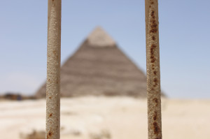 The Pyramids Behind Bars
